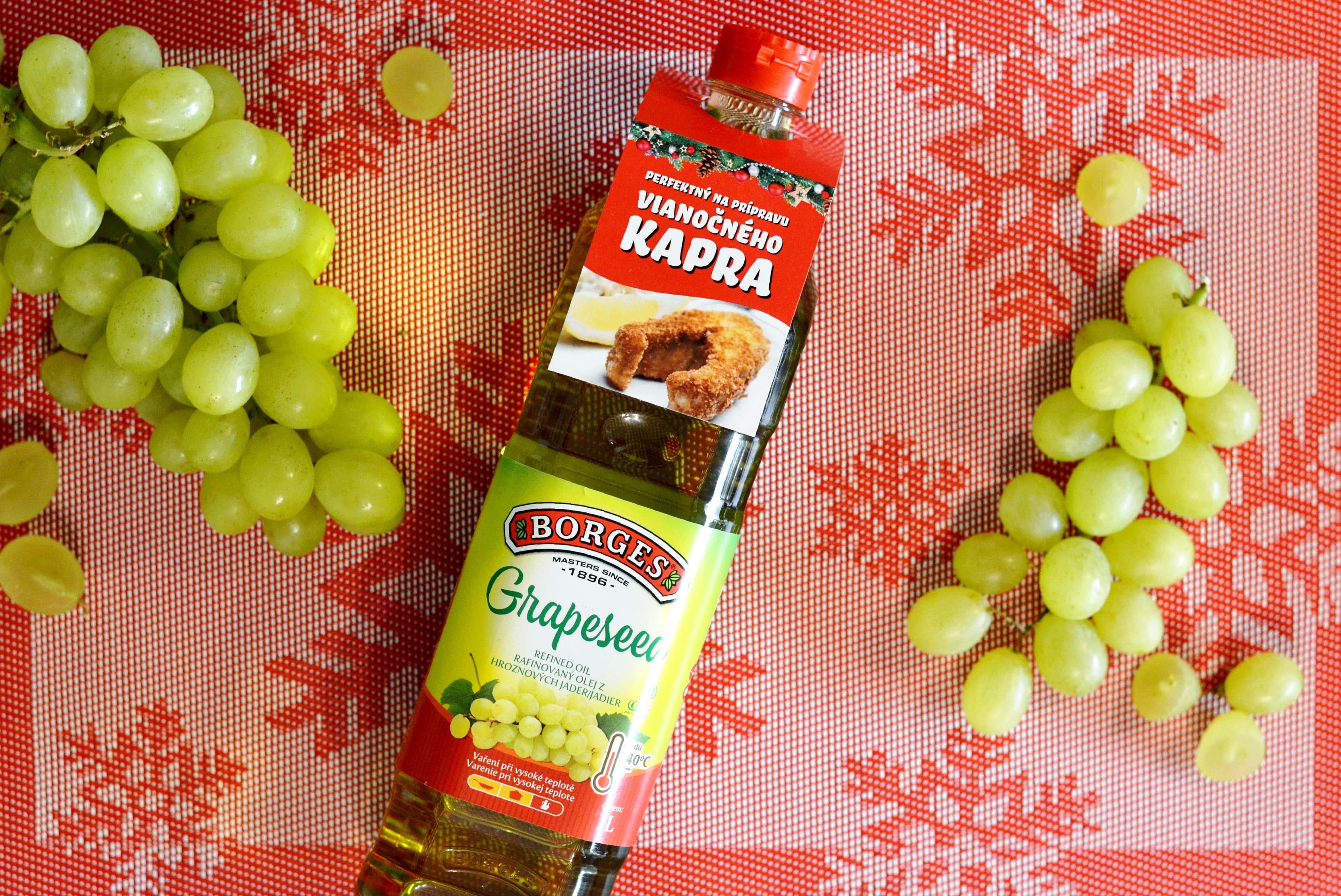 5 použití oleja z hroznových jadier