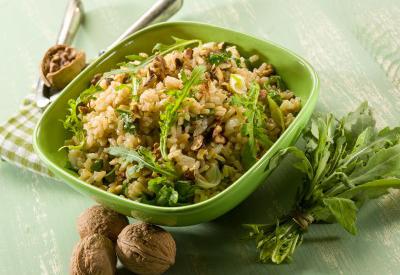 Rýže s oříšky a speciálním mixem koření