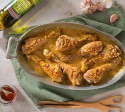 Pečené kuracie stehná v horčicovo medovej omáčke